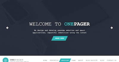 OnePager Thumbnail Preview