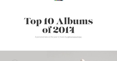 Top 10 Albums of 2014 Thumbnail Preview