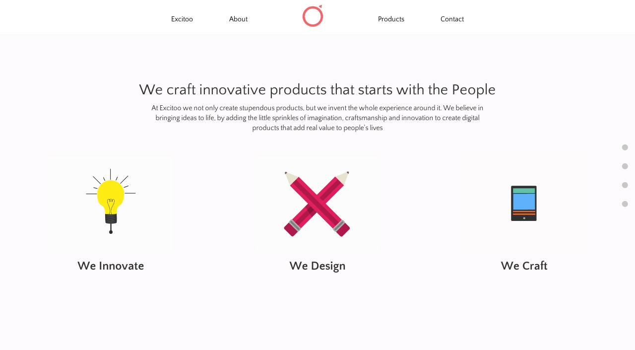 Excitoo Innovations Website Screenshot