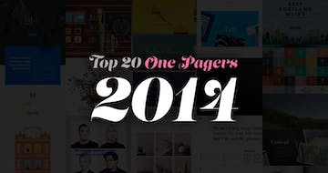 The Top 20 One Pagers from 2014.