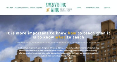 Everything In Mind Tutoring Thumbnail Preview