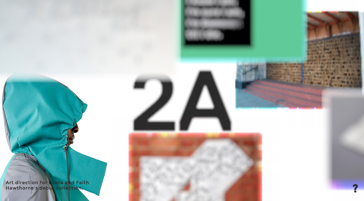 2A Studio Website Screenshot
