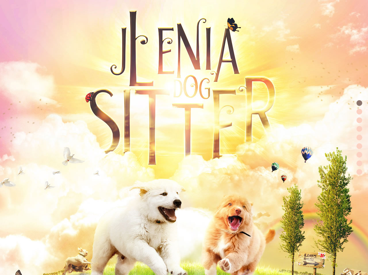 Jlenia Dog Sitter Roma Website Screenshot