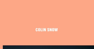 Colin Snow Thumbnail Preview