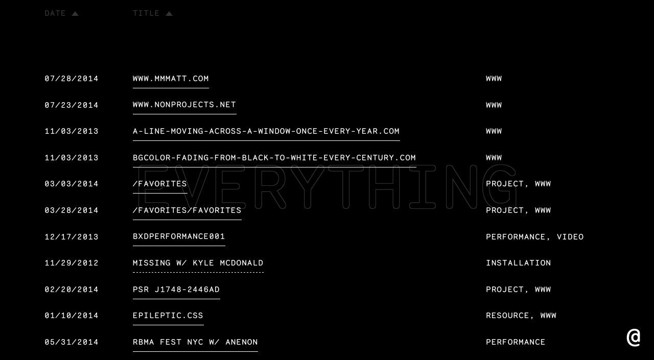Jon Kyle Website Screenshot