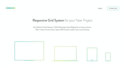 Responsive Grid System Thumbnail Preview