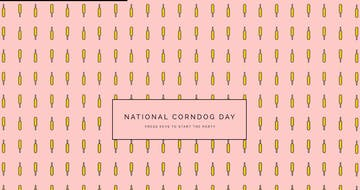 National Corndog Day Thumbnail Preview