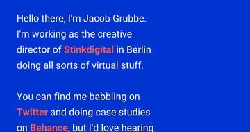 Jacob Grubbe Thumbnail Preview