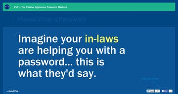 Passive Aggressive Passwords Thumbnail Preview