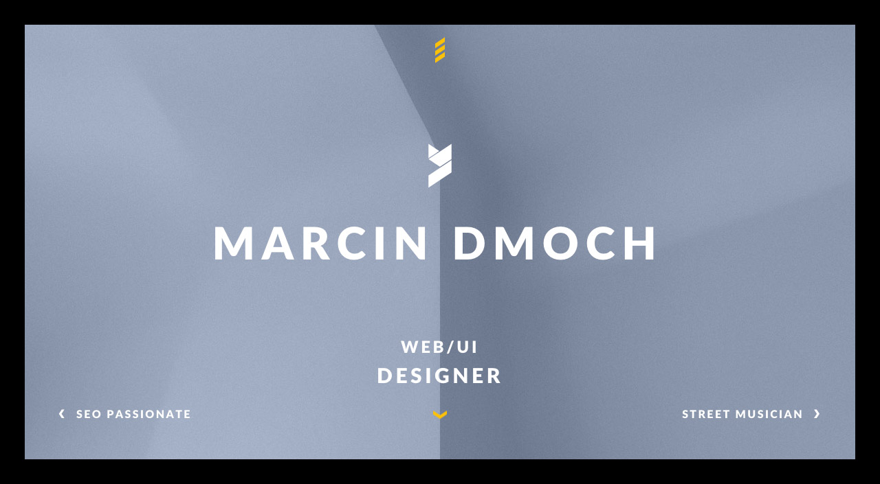 Marcin Dmoch Website Screenshot