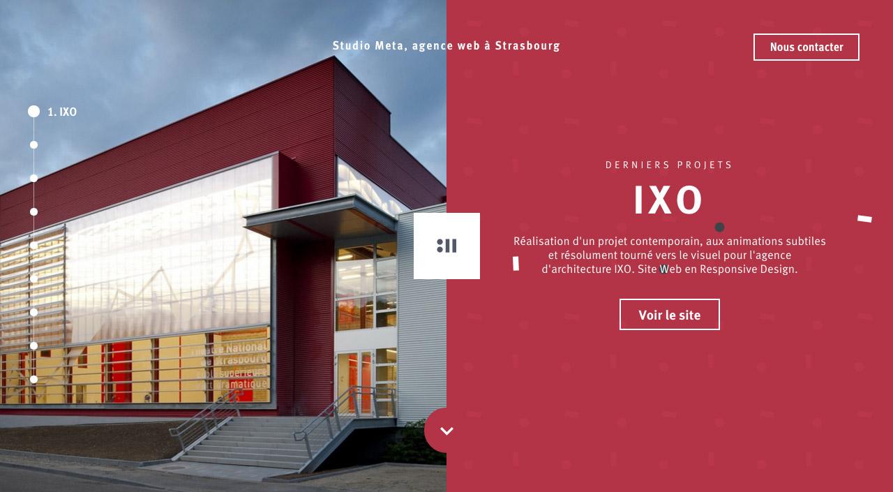 Studio Meta Website Screenshot