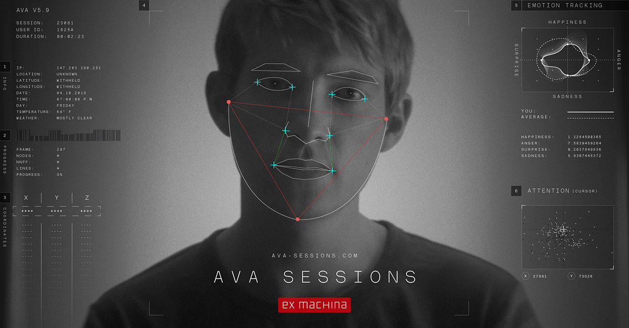 Ava Sessions Website Screenshot