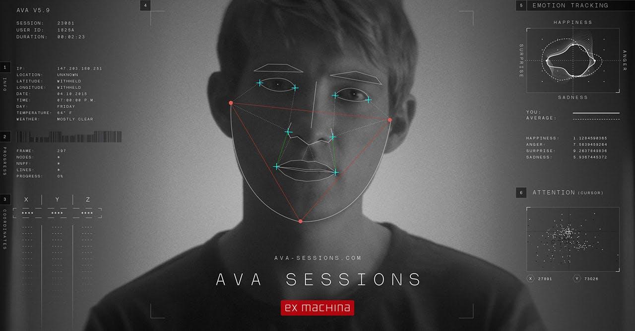 Ava Sessions Website Screenshot