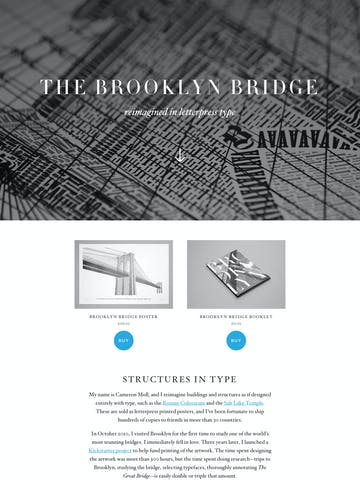 The Brooklyn Bridge Thumbnail Preview