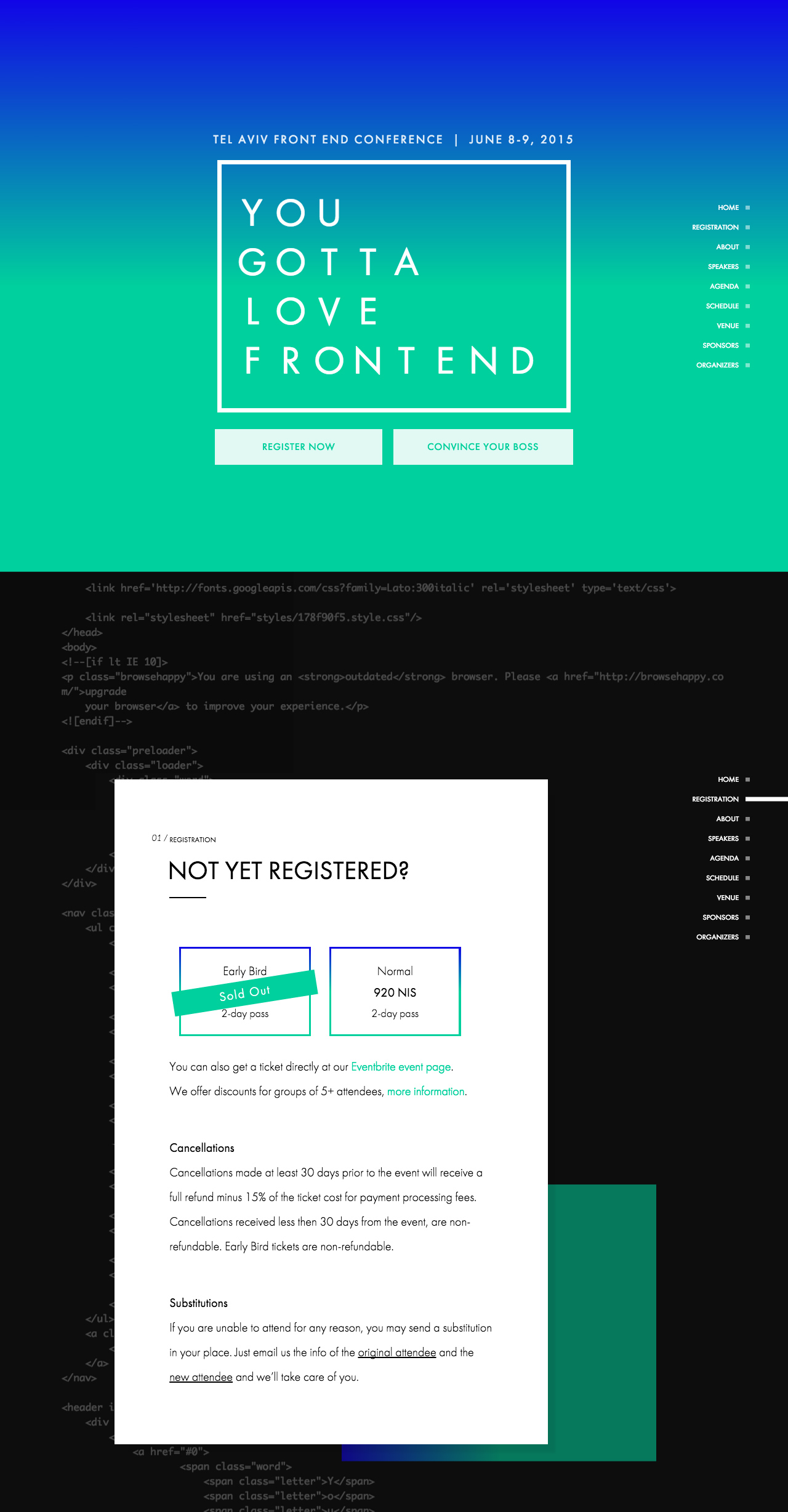 You Gotta Love Frontend Website Screenshot
