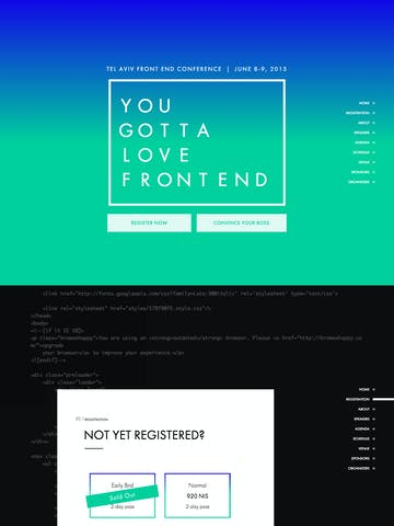 Futura PT Font One Page Websites