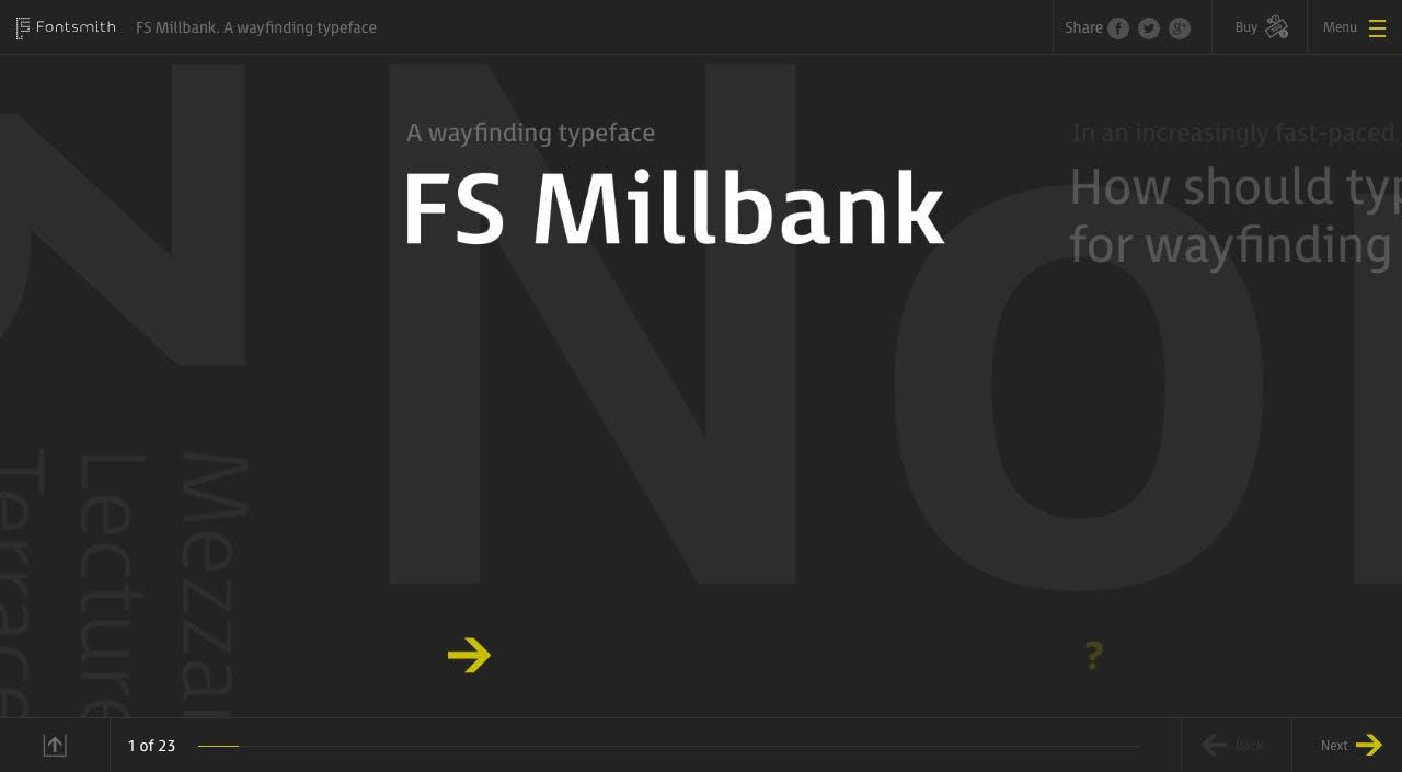 FS Millbank Website Screenshot