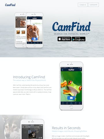 CamFind Thumbnail Preview