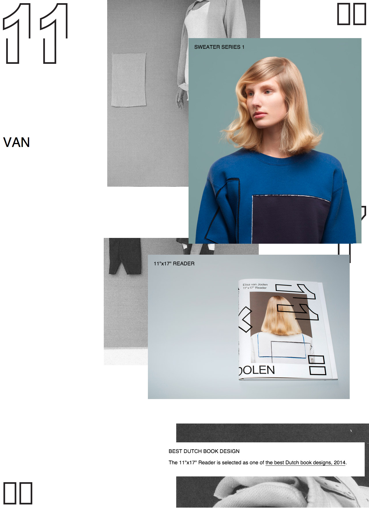 Elisa van Joolen Website Screenshot