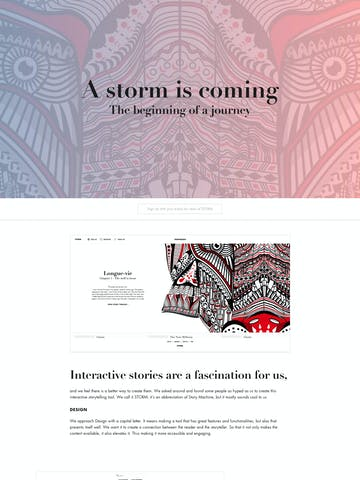 A Storm is Coming Thumbnail Preview
