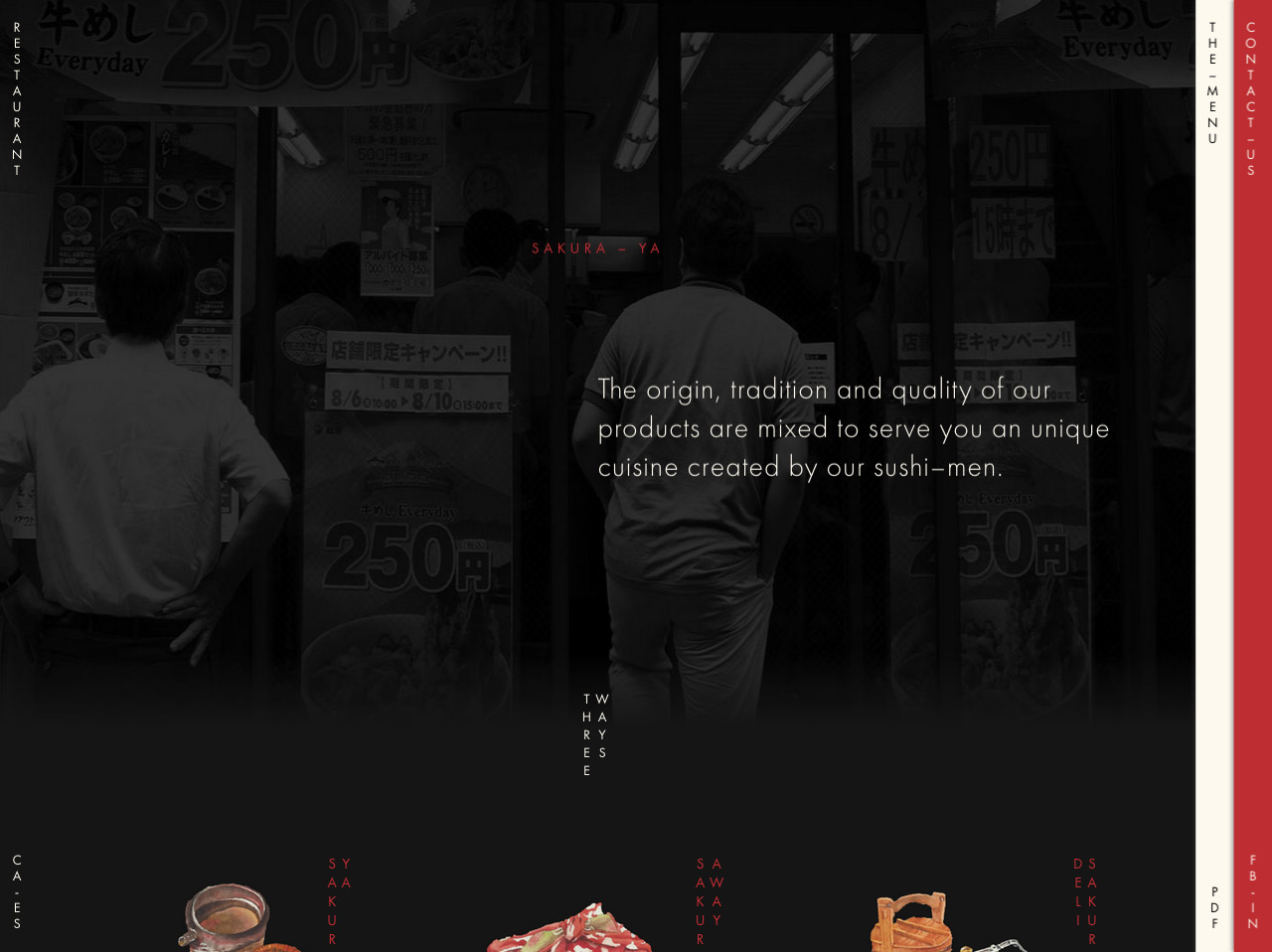 Sakura – Ya Website Screenshot