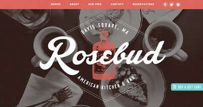 Rosebud American Kitchen & Bar Thumbnail Preview