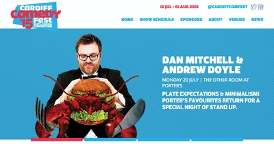 Cardiff Comedy Festival Thumbnail Preview