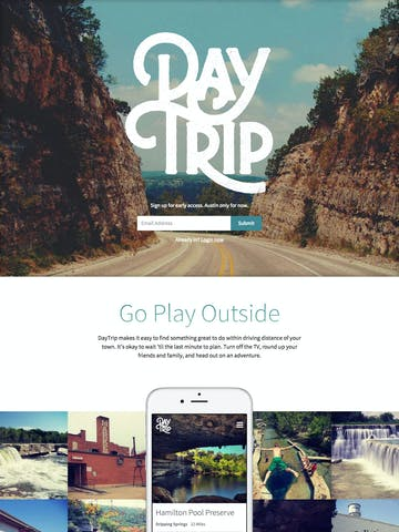 DayTrip Thumbnail Preview