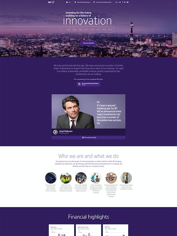 BT Annual Report Review 2015 Thumbnail Preview