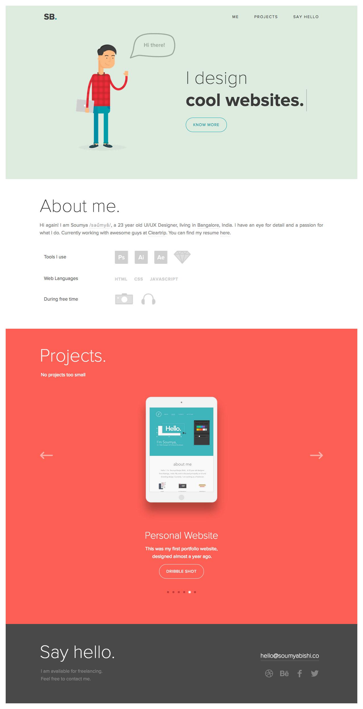 Soumya Ranjan Bishi Website Screenshot