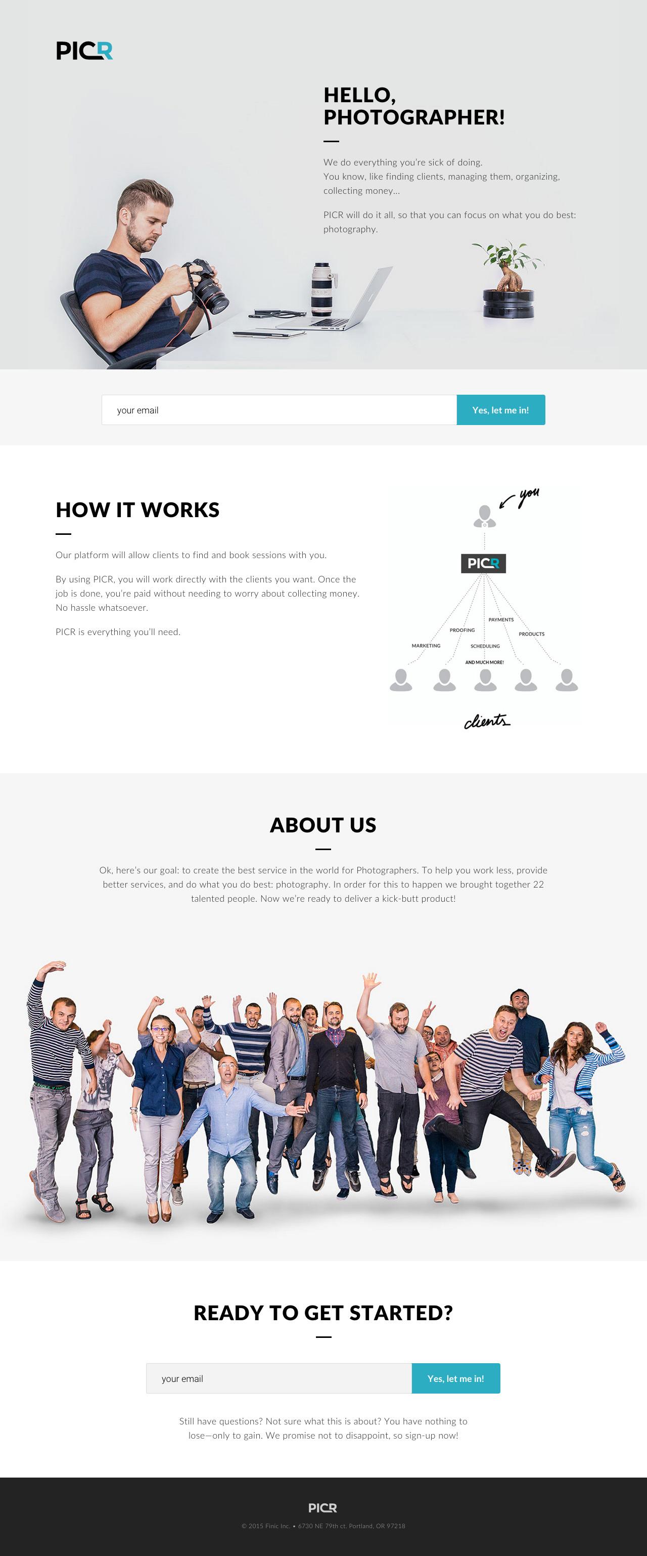 Picr Website Screenshot