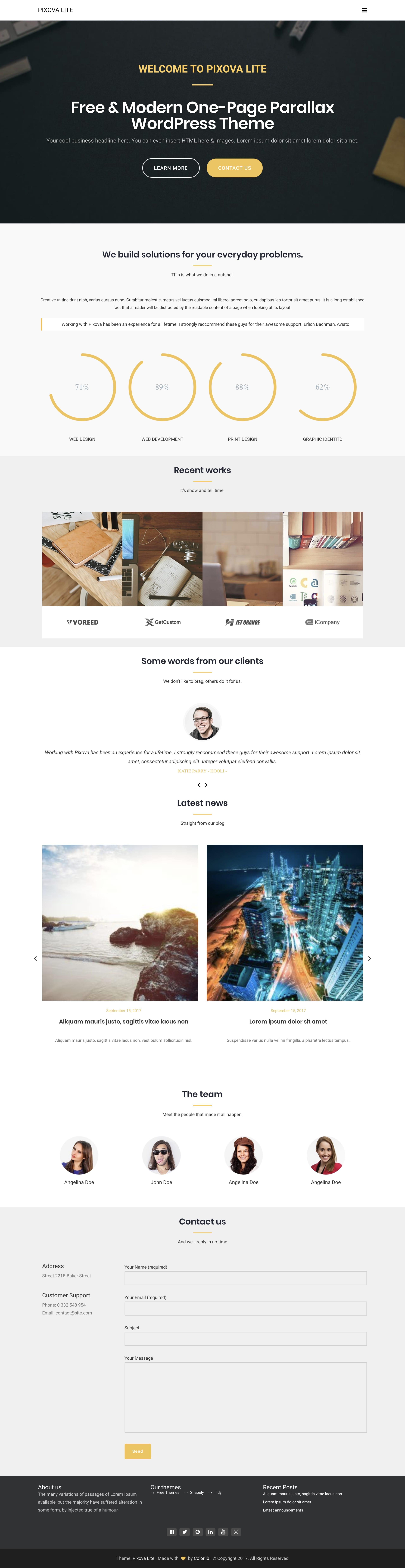 Pixova Lite Website Screenshot
