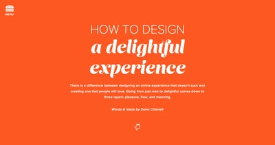 How to Design a Delightful Experience Thumbnail Preview