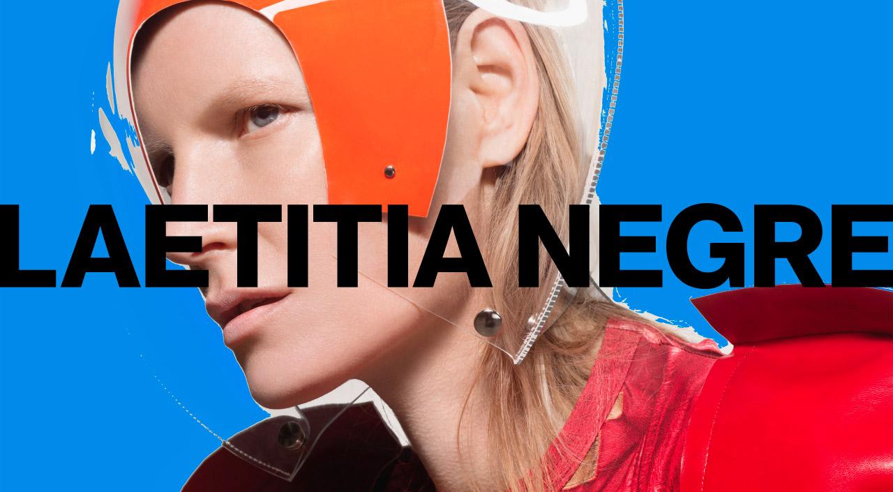 Laetitia Negre Website Screenshot