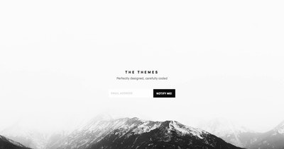 The Themes Thumbnail Preview