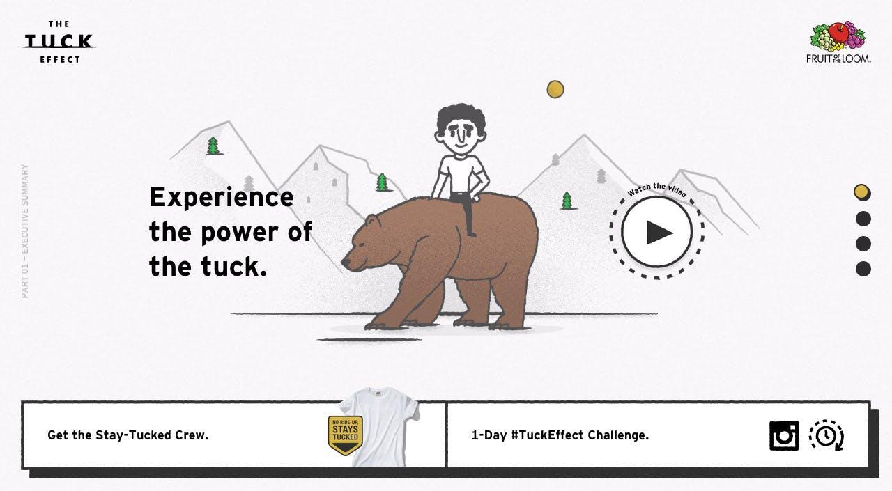 The Tuck Effect Website Screenshot