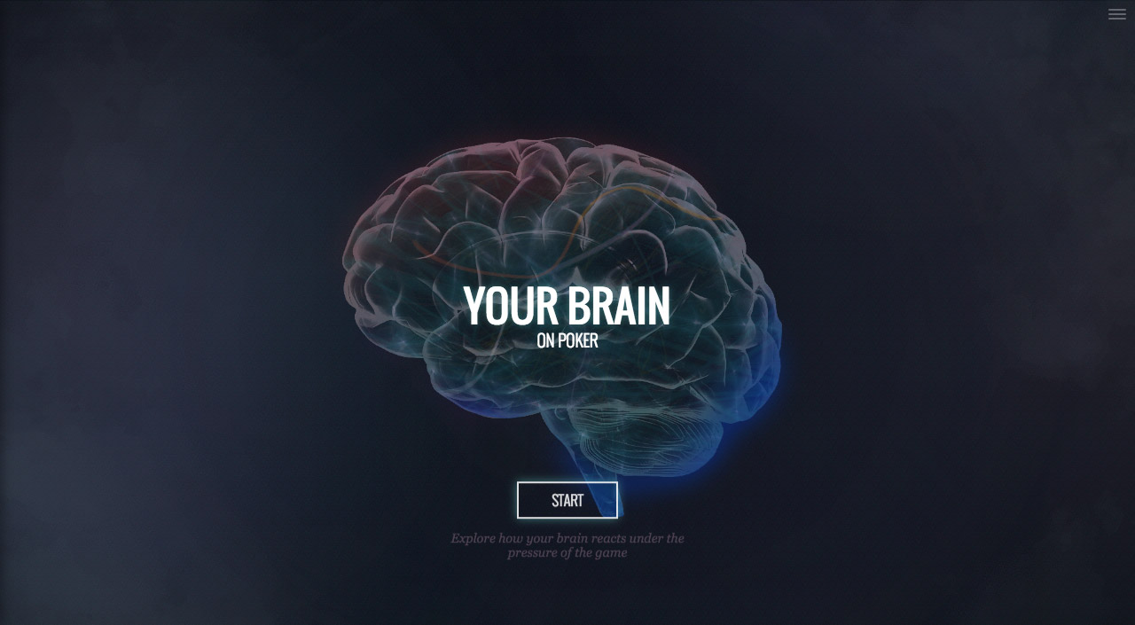 Your brain on poker Website Screenshot