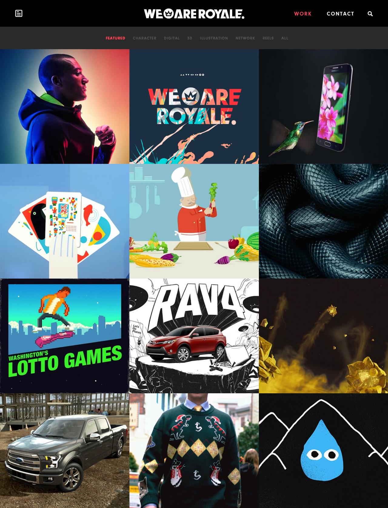 We Are Royale Website Screenshot