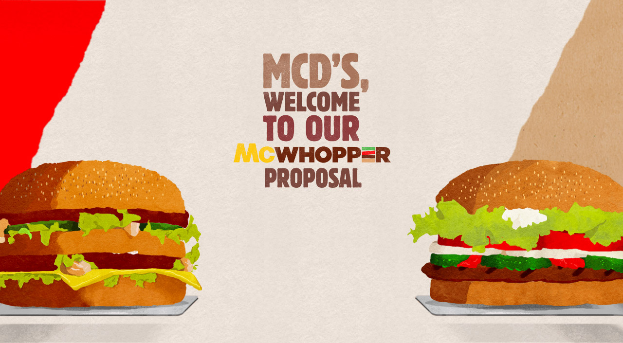 McWhopper Website Screenshot