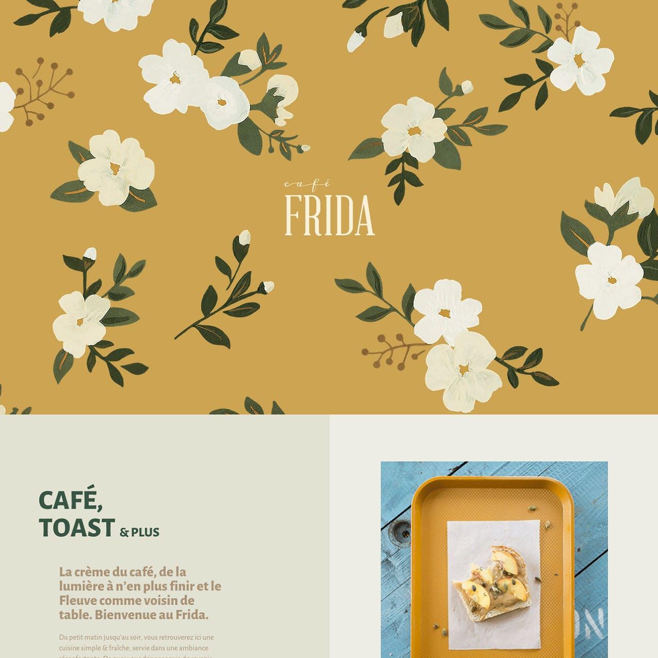 Café Frida Website Screenshot