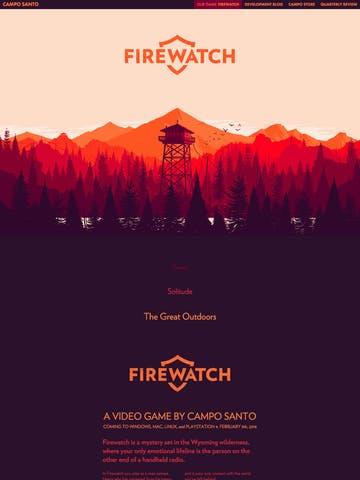 Firewatch Thumbnail Preview
