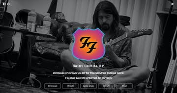 Foo Fighters – Saint Cecilia EP Thumbnail Preview