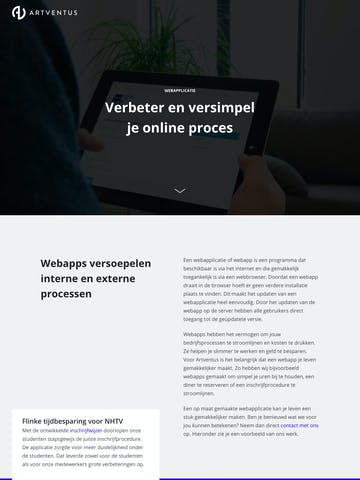 Artventus – Webapplicatie Thumbnail Preview
