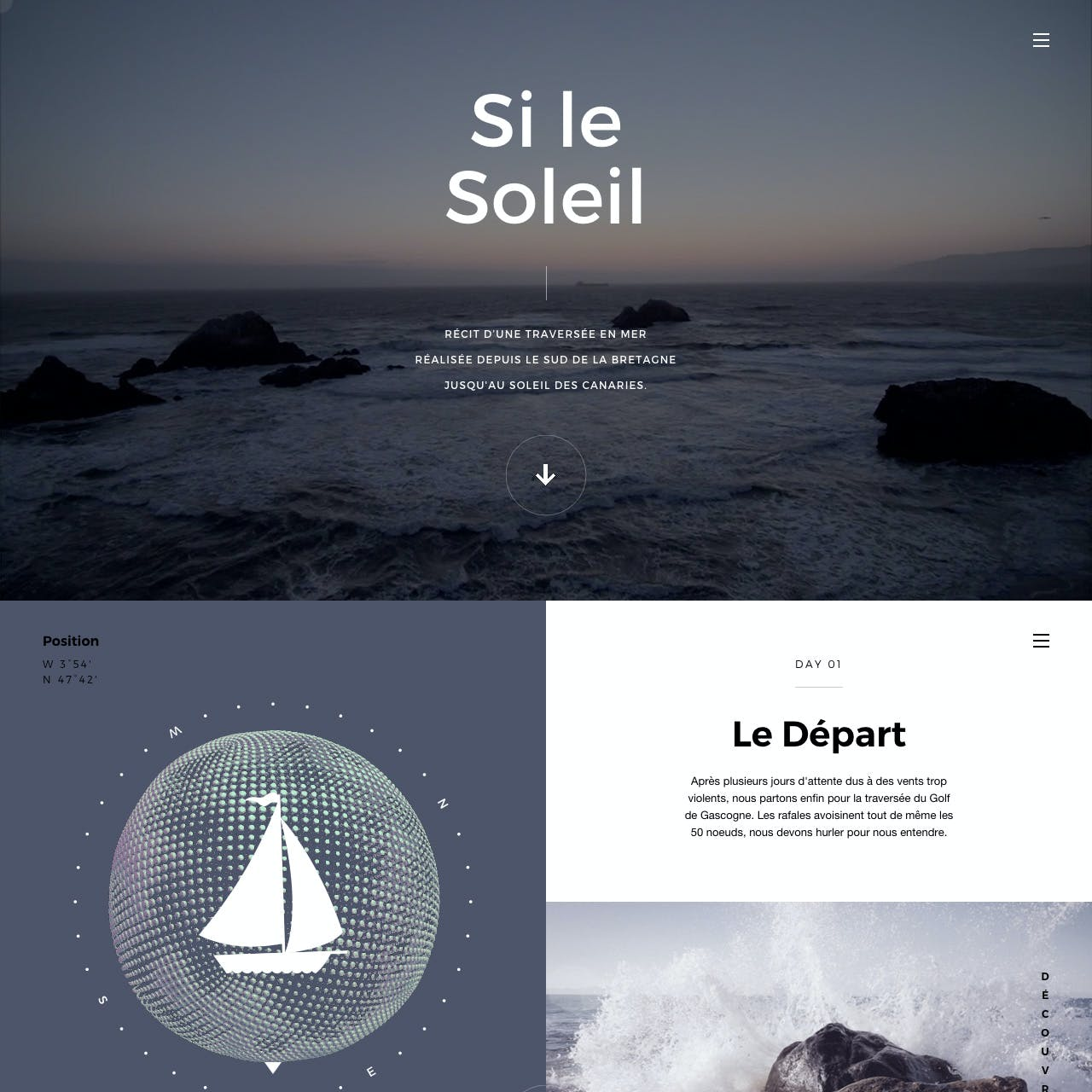 Si Le Soleil Website Screenshot
