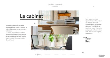 Cabinet d'Avocats Thumbnail Preview