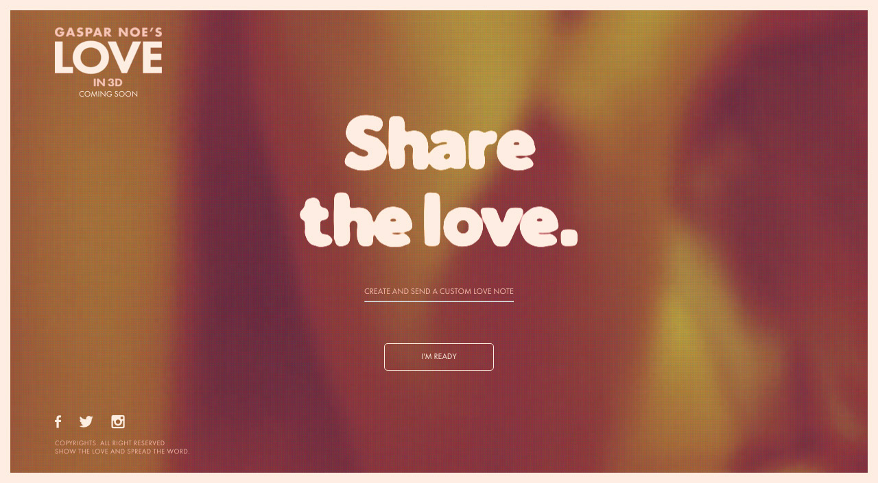 Let's Make LOVE Website Screenshot