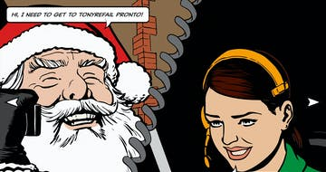 Merry Christmas from Traveline Cymru Thumbnail Preview