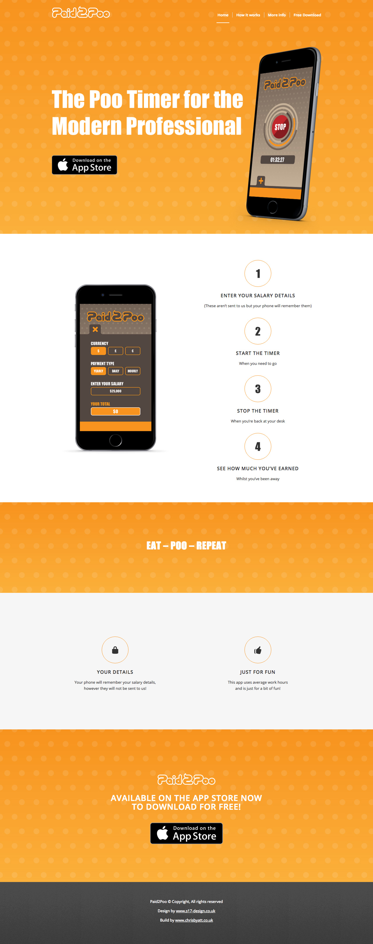 Paid2Poo Website Screenshot
