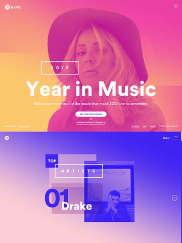 Spotify Year in Music 2015 Thumbnail Preview