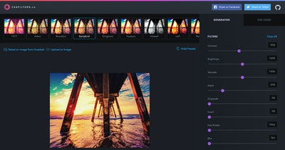 cssFilters.co Thumbnail Preview